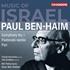 """BBCフィル新首席指揮者オマー・メイア・ウェルバーによる「イスラエルの音楽」シリーズ第1弾!ベン=ハイム:交響曲第1番、交響詩""""パン""""、他"""