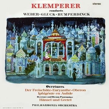クレンペラーの序曲集
