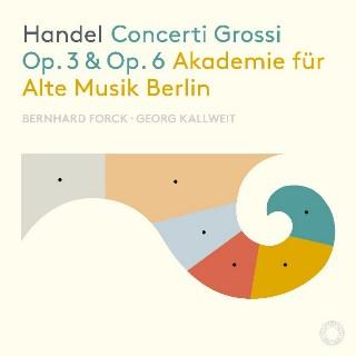 ベルリン古楽アカデミーによるヘンデルの6つの合奏協奏曲&12の合奏 ...