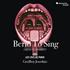 ルシール・リシャルドーによるルチアーノ・ベリオの「歌」にまつわる作品集!『ベリオ 歌おう - Berio To Sing』