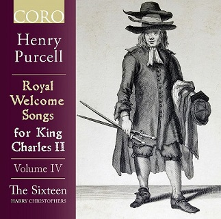 パーセル:チャールズⅡ世のための歓迎歌集(ウェルカム・ソング集) Vol.4