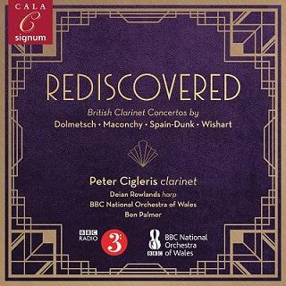 再発見 ~ イギリスのクラリネット協奏曲集