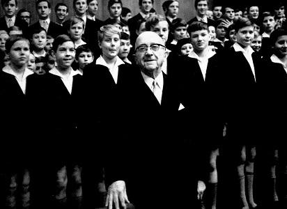 R.マウエルスベルガーとドレスデン聖十字架合唱団