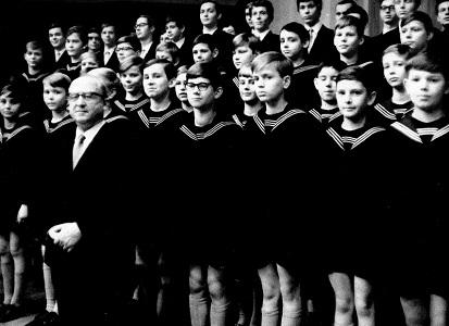 E.マウエルスベルガーとライプツィヒ聖トーマス教会合唱団