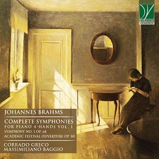 ブラームス:ピアノ4手連弾による交響曲全集 Vol.1