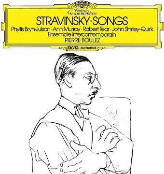ストラヴンスキー:歌曲集