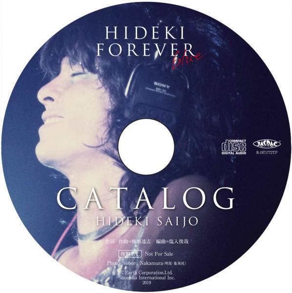 HIDEKI FOREVER blue (ヒデキ フォーエバー ブルー) [BOOK+CD] /西城秀樹