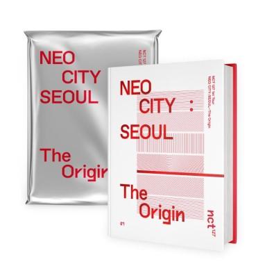 NCT 127 1st Tour NEO CITY : SEOUL - The Origin CONCERT PHOTOBOOK+LIVE ALBUM [BOOK+2CD]
