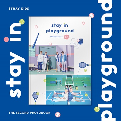 STRAY KIDS 2nd PHOTOBOOK [stay in playground] [BOOK+DVD]_1