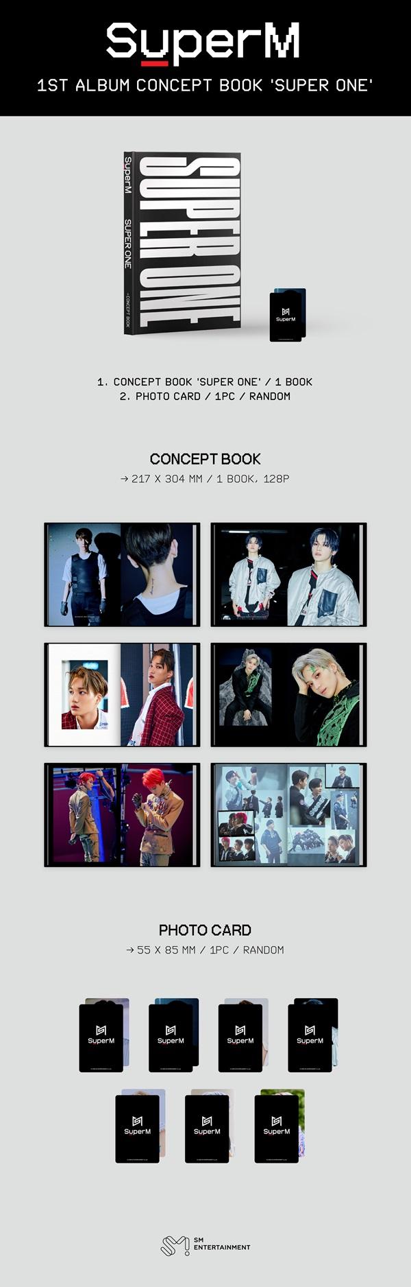 1st Album Concept Book [Super One]_2