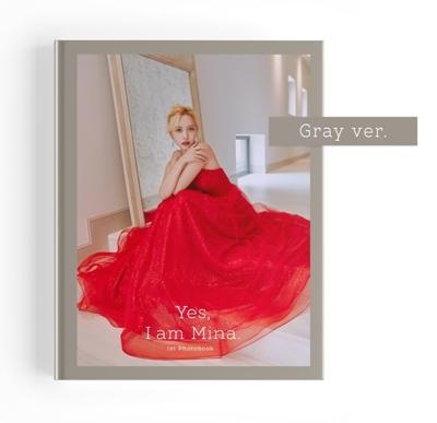 Yes, I am Mina: 1ST PHOTOBOOK<Gray Ver> Mina (TWICE)