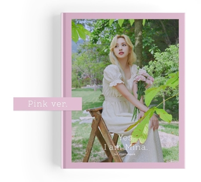 Yes, I am Mina: 1ST PHOTOBOOK<Pink Ver> Mina (TWICE)