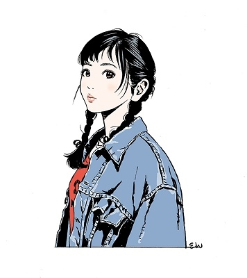 江口寿史美人画集 彼女_6