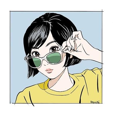 江口寿史美人画集 彼女_7