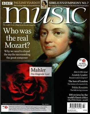 BBC MUSIC 2021年3月号