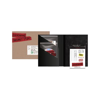 CODENAME : SECRET ITZY BEHIND DVD PHOTOBOOK PACKAGE [BOOK+DVD]