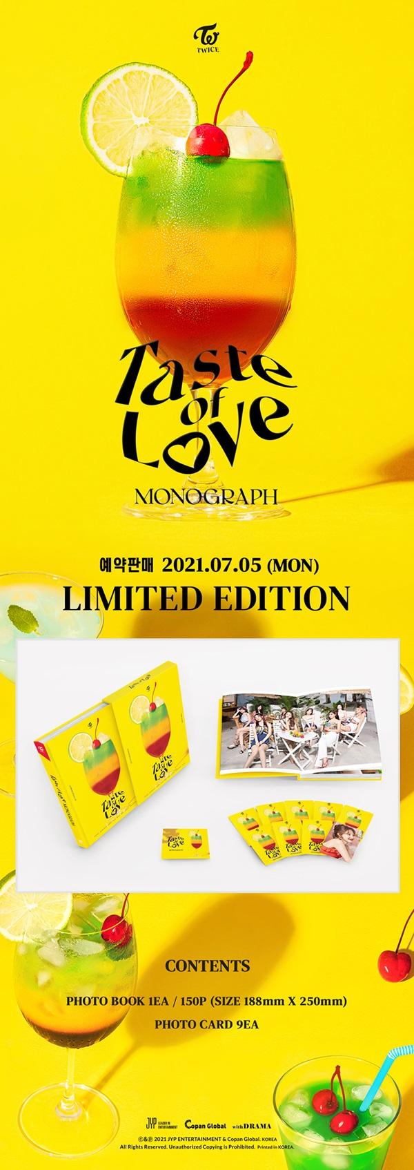 TWICE MONOGRAPH Taste of Love
