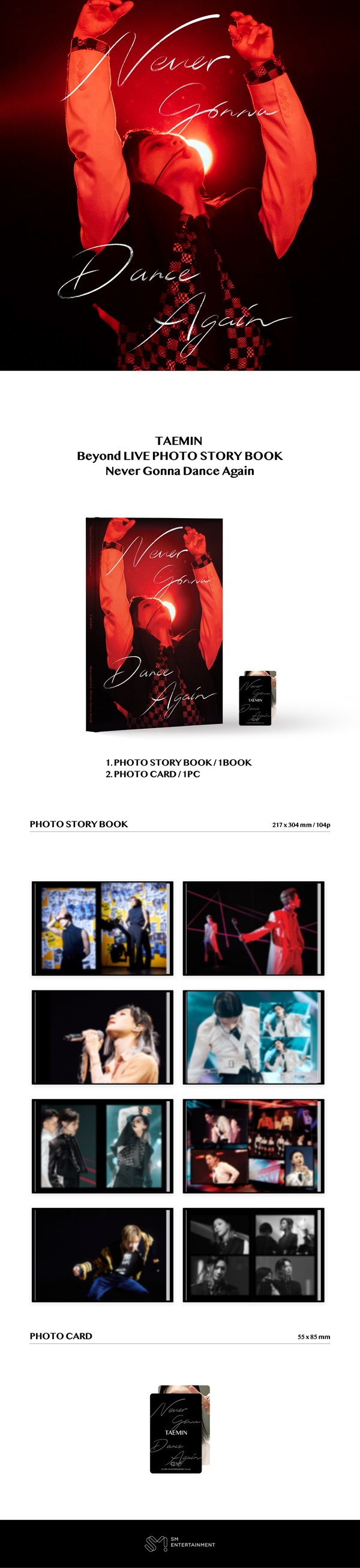 Beyond LIVE PHOTO STORY BOOK - Never Gonna Dance Again_2