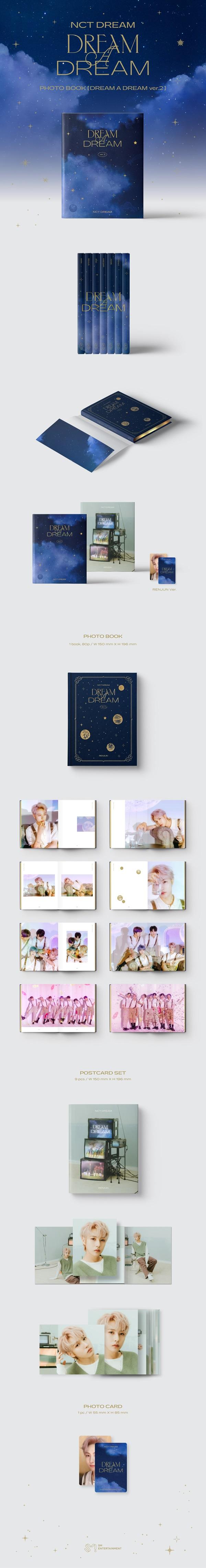 NCT DREAM PHOTO BOOK [DREAM A DREAM ver.2]: RENJUN Ver.