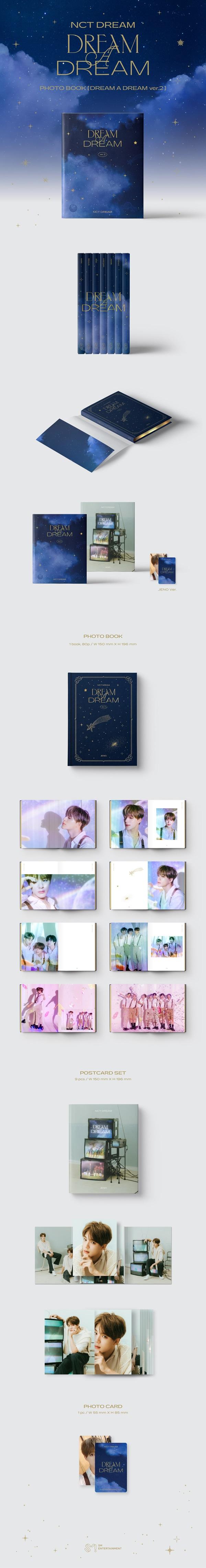 NCT DREAM PHOTO BOOK [DREAM A DREAM ver.2]: JENO Ver.