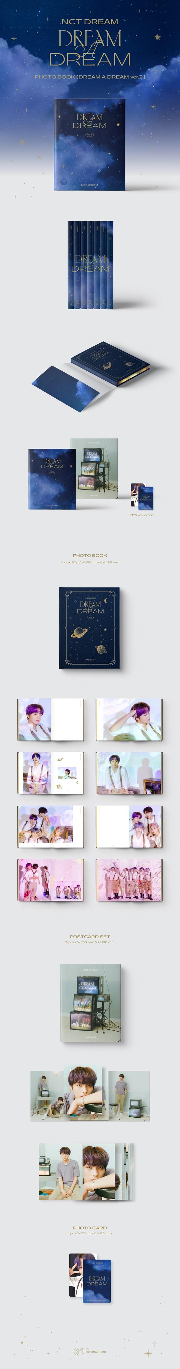 NCT DREAM PHOTO BOOK [DREAM A DREAM ver.2]: HAECHAN Ver.