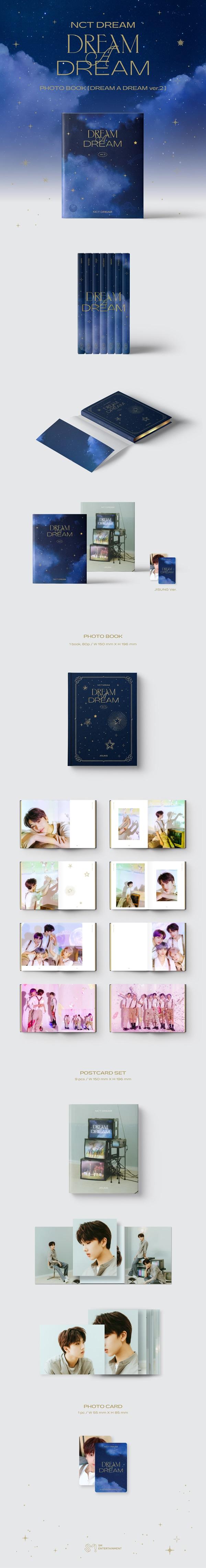 NCT DREAM PHOTO BOOK [DREAM A DREAM ver.2]: JISUNG Ver.