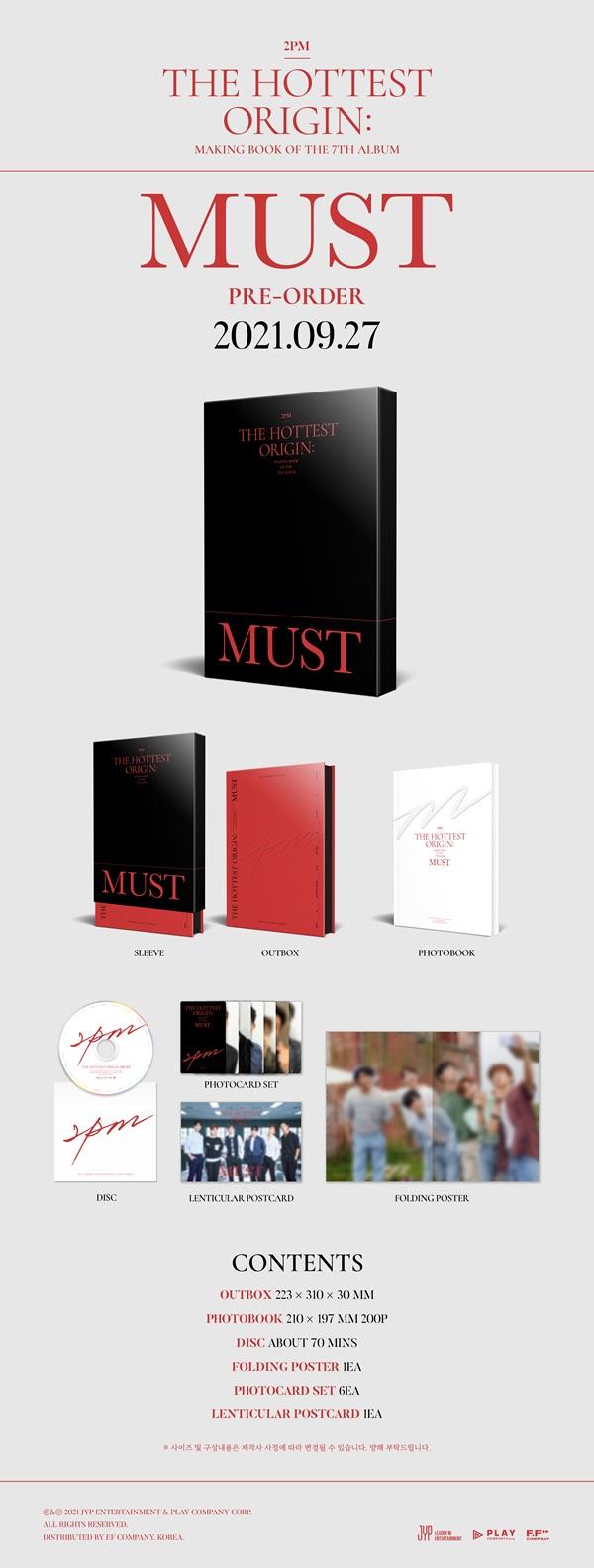 2PM THE HOTTEST ORIGIN: MUST MAKING BOOK [BOOK+DVD]_2