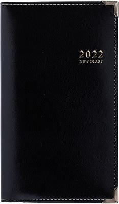 2022年1月始まり No,99 ニューダイアリー アルファ 1 [黒] 高橋書店 手帳判