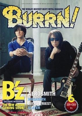 BURRN! 2019年6月号/B'z