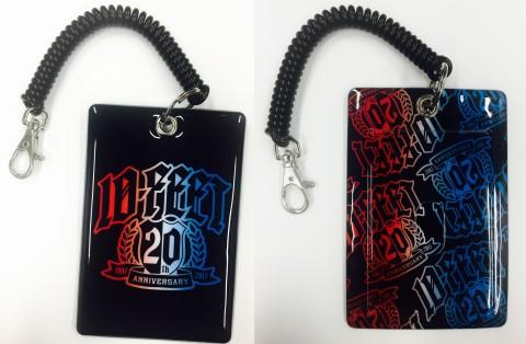 10-FEET20周年記念パスケース