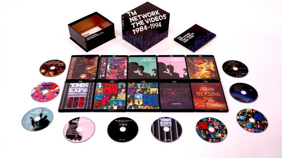 TM NETWORKデビュー35周年記念企画、デビューから「TMN終了」宣言までの映像作品を集めたBlu-ray BOX『TM NETWORK THE VIDEOS 1984-1994』5月22日発売