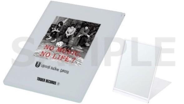 UNISON SQUARE GARDEN「NO MUSIC, NO LIFE.」スクエアミラー 800円+税