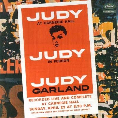 Judy Garland(ジュディ・ガーランド)『ジュディ・アット・カーネギー・ホール』