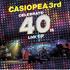 CASIOPEA 3rd(カシオペア) ライヴ作品『CELEBRATE 40th』がCDで登場