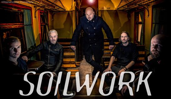 ヘヴィ・メタル・バンド、Soilwork(ソイルワーク)、「現実」を意味する『ヴァルケヒエッテン』をタイトルに掲げた新作を完成!