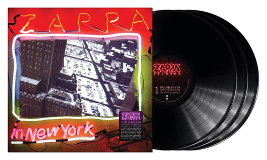 Frank Zappa(フランク・ザッパ)、78年作『Zappa In New York』