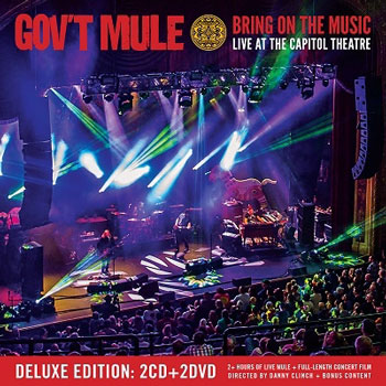 Gov't Mule(ガヴァメント・ミュール)『Bring On The Music: Live At The Capitol Theatre』