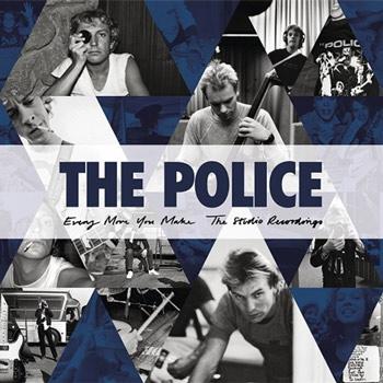 The Police(ポリス)CDボックス・セット『エヴリ・ムーヴ・ユー・メイク: ザ・スタジオ・レコーディングス』