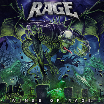Rage(レイジ)ニュー・アルバム『Wings Of Rage』