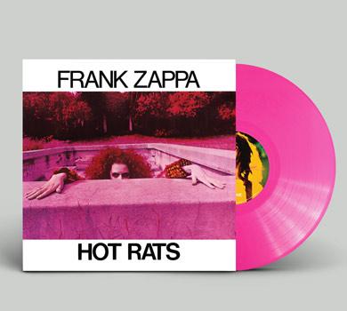 『Hot Rats』180g重量盤カラー・ヴァイナル