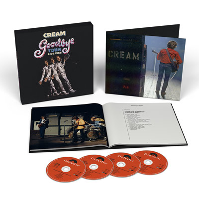 Cream(クリーム)『グッバイ・ツアー – ライヴ1968』