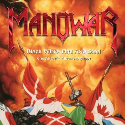 Manowar(マノウォー)『Black Wind, Fire And Steel - The Atlantic Albums 1987-1992』