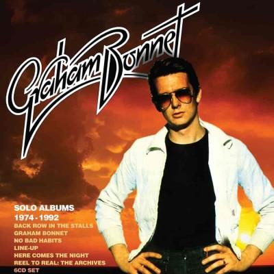 Graham Bonnet(グラハム・ボネット)『Solo Albums 1974-1992』