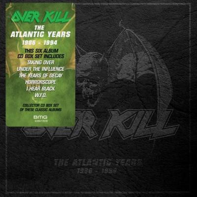 Overkill(オーヴァーキル)『The Atlantic Years 1986-1996』