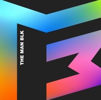 THE MAN BLK Various Colors: 1st Mini Album