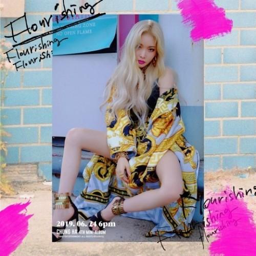 Chung Ha Flourishing4th mini album