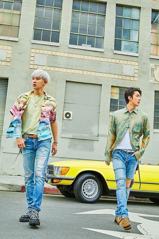 EXO-SC(セフン&チャンヨル)ファースト・ミニアルバム『What a life』