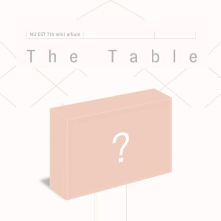 NU'EST、韓国7枚目のミニアルバム『The Table』