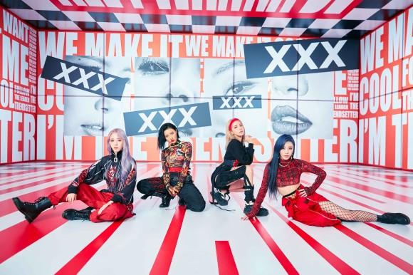 MAMAMOO、日本セカンドアルバム『reality in BLACK -Japanese Edition-』3月11日発売