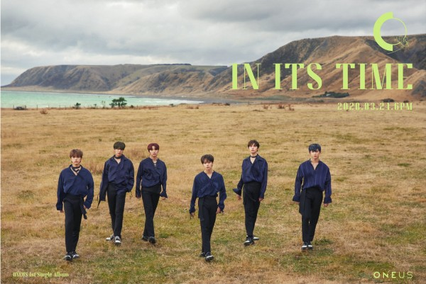 ONEUS 韓国ファーストシングル『IN ITS TIME』